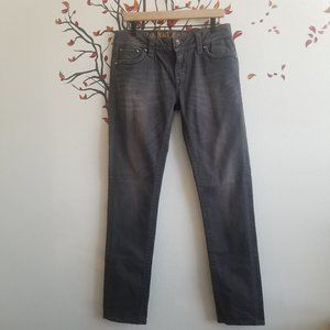 ROCK REVIVAL Celine Skinny Denim Gray Jeans 32